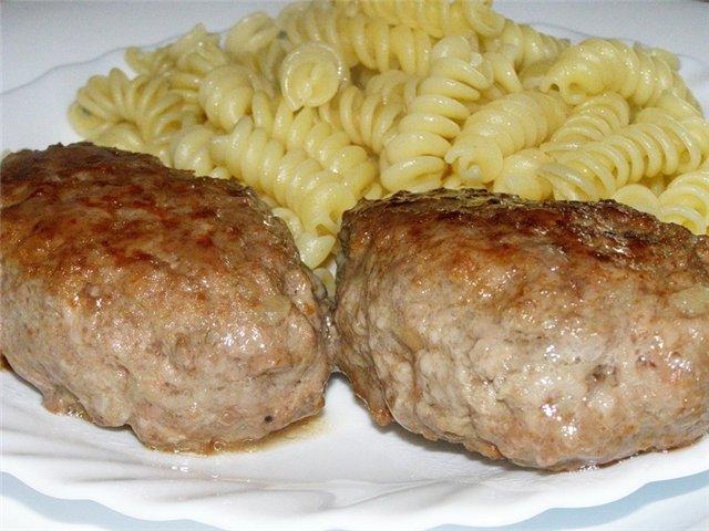 Рецепт котлет мясных на пару в пароварке