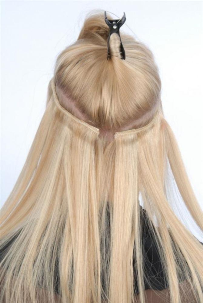 Накладные волосы как прицепить