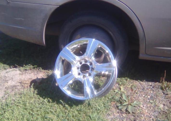 Как хромировать колеса