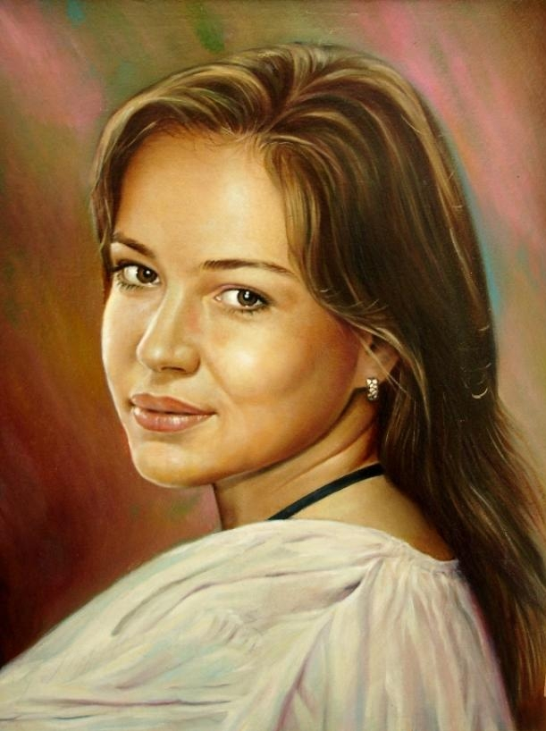 Как рисовать масляными красками портреты
