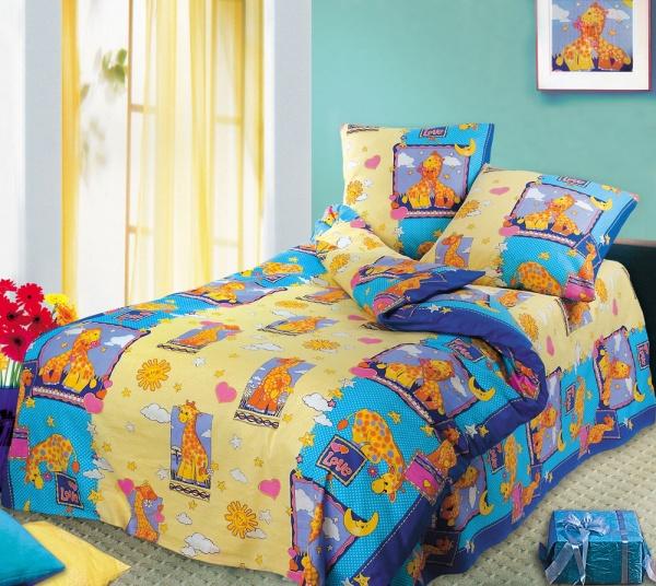 А ведь можно просто купить необходимое количество ткани и сшить комплект детского постельного белья самостоятельно