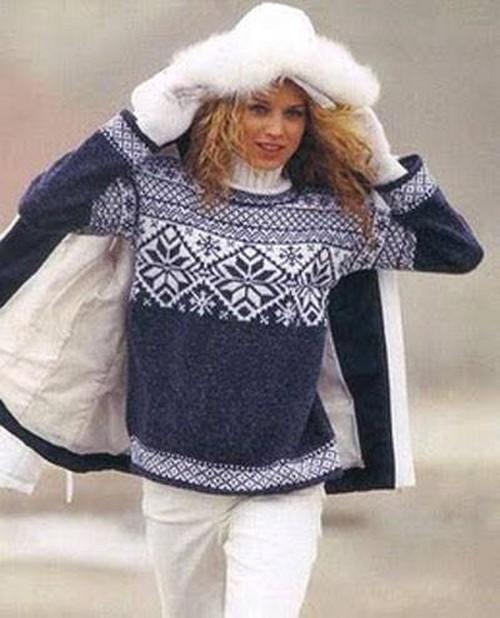 Связать красивый свитер