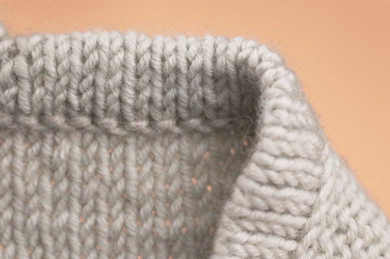 схема вязания спицами двойной резинки