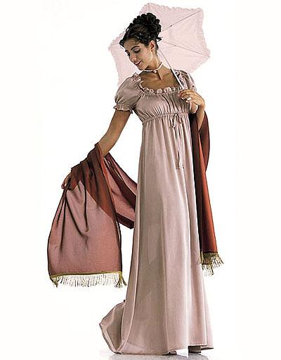 Платье в стиле ампир своими руками