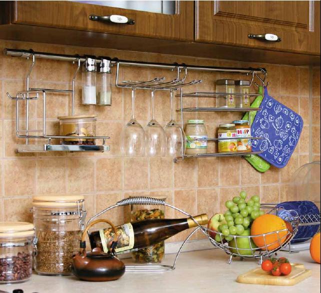 Инструкция по установке рейлингов для кухни
