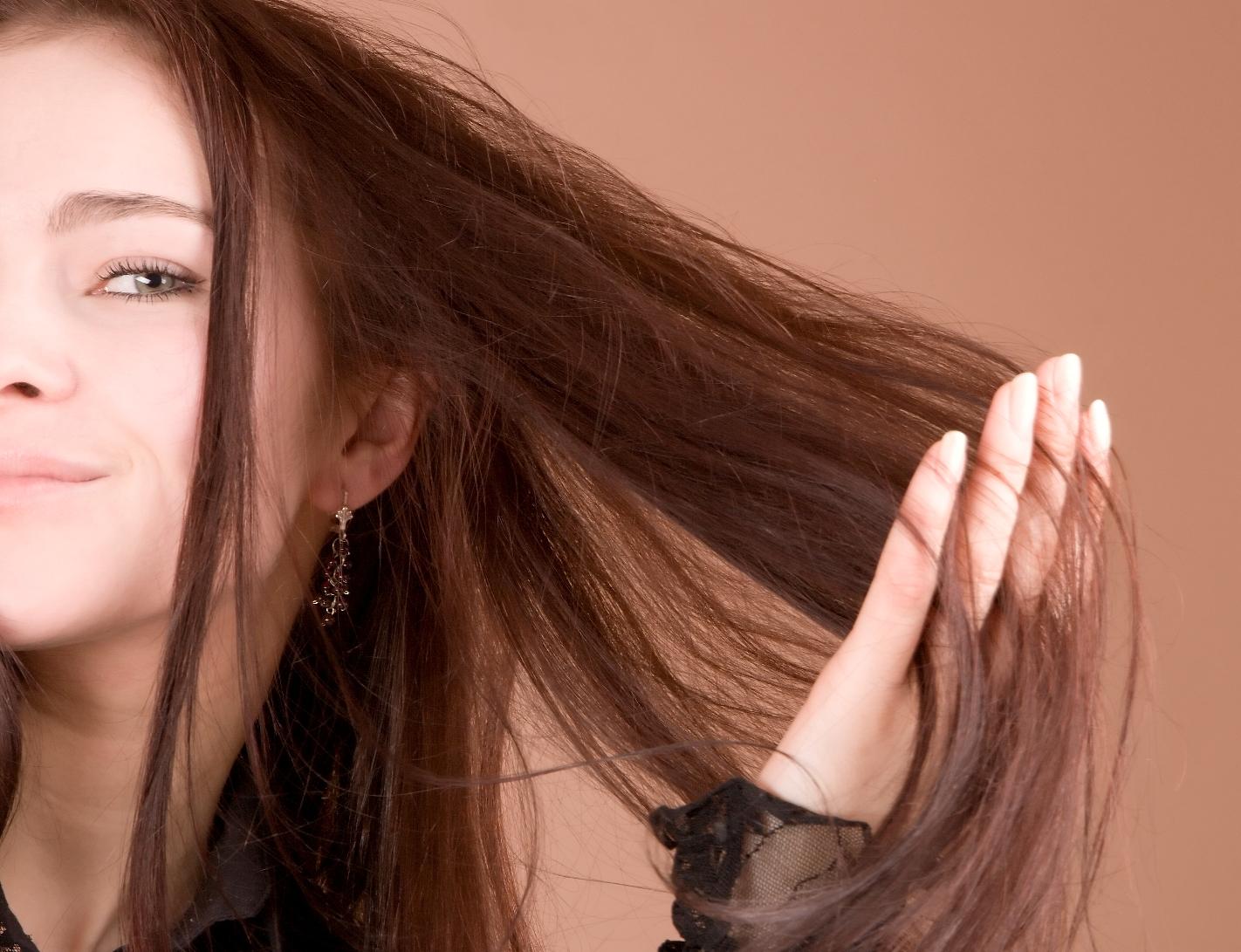 Как тёмный цвет волос сделать светлее