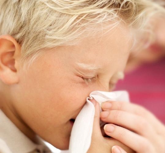 У ребенка затяжной насморк