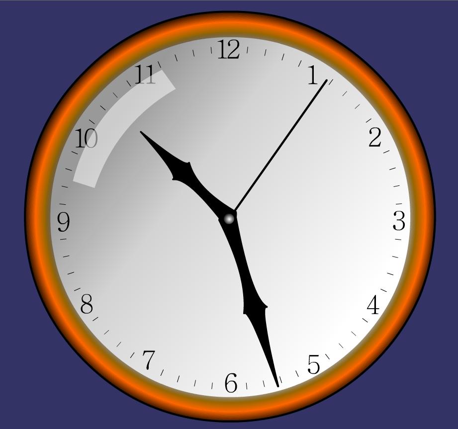 Как сделать часы swf