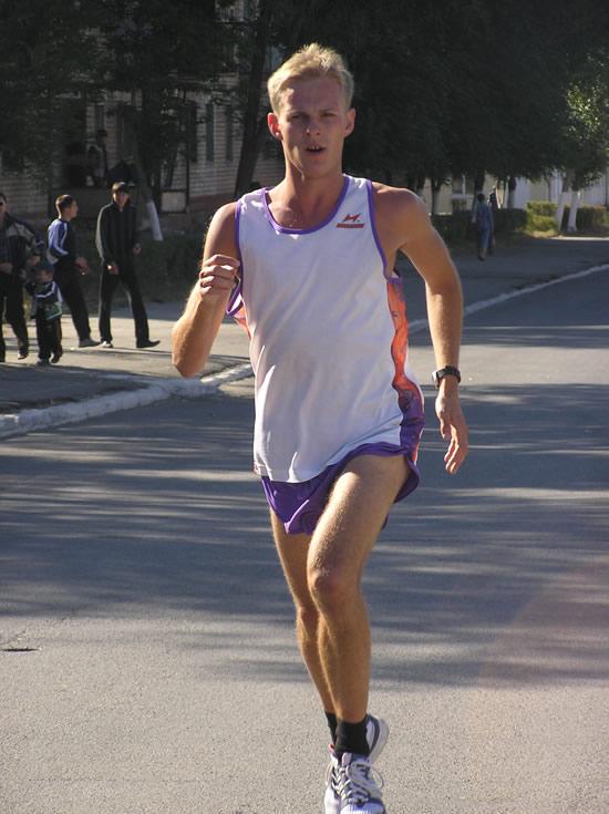 фото бегущего человека