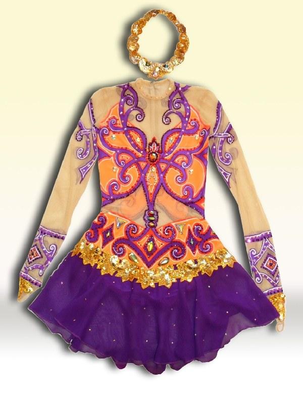 Как сшить восточный костюм для девочки? Выкройка 6