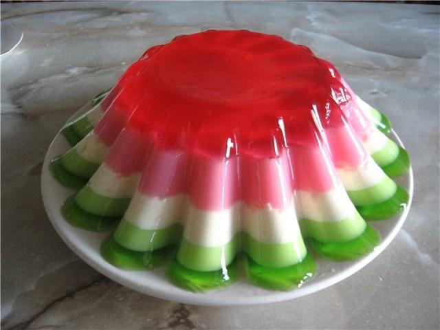 Желе из замороженных ягод с желатином Рецепты с фото 22