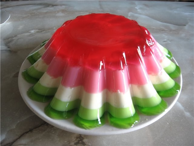 Десерты из желе - Едим дома
