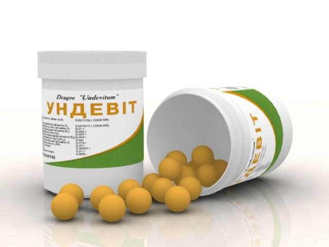 Какое количество драже витаминов ундевит неоходимо употреблять взрослому человеку в день