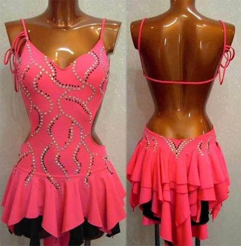 Выкройка платья для латины своими руками