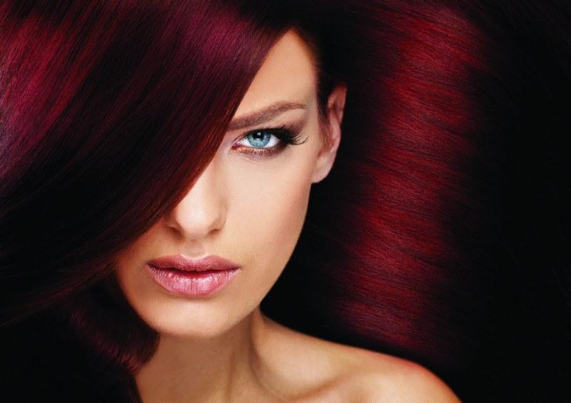 Как убрать с волос красный цвет