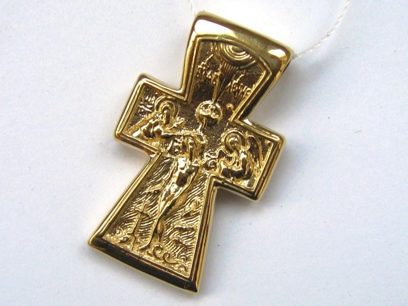 Золотой крестик своими руками