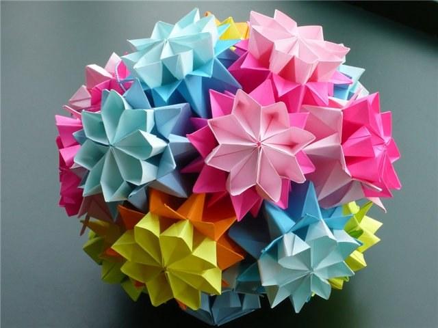Оригами – это японское