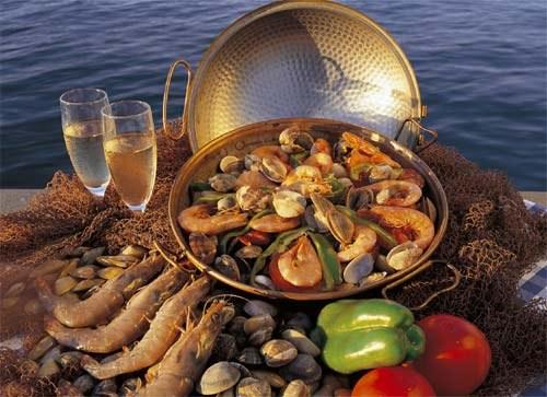 морской коктейль рецепт жарка