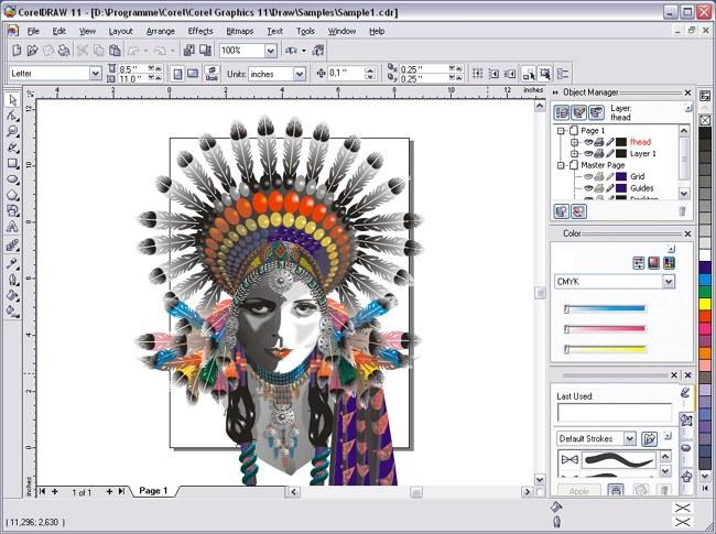 Как сохранить векторную картинку Corel Draw в