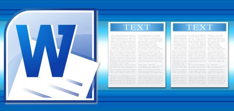 Как в ворде сделать текст в столбик