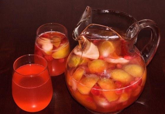 Сделать компот из яблок
