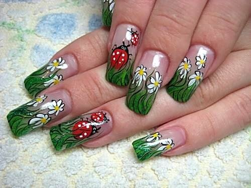 как сделать дизайн ногтей: