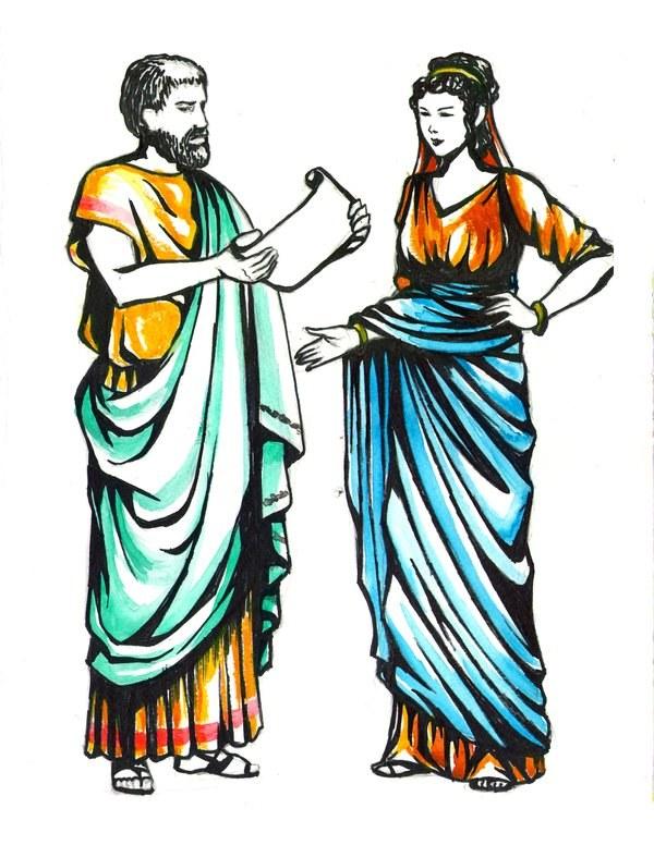 832d5f6139e Как одевались в Древнем Риме 🚩 верхняя одежда в древнем риме ...