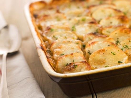 быстрая картофельная запеканка рецепт