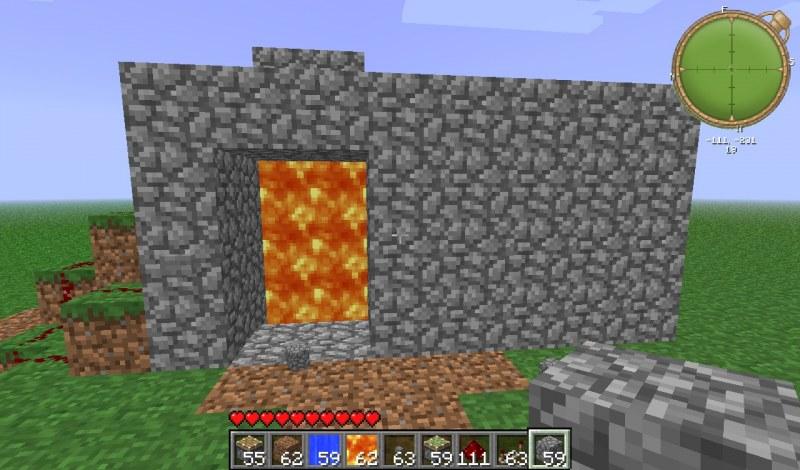 защитить дверь в minecraft