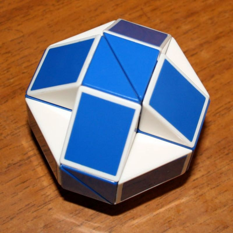 Как собрать шар из змейки рубика инструкция