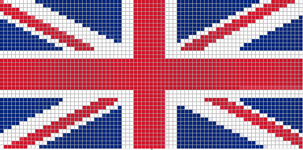 Схема британского флага
