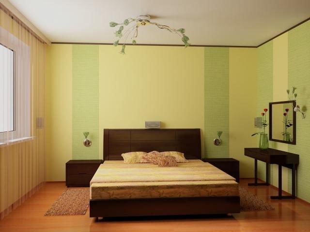 Какого цвета должны быть обои в спальне