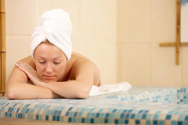 Процедуры в бане для кожи