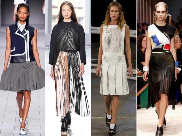 какая длина юбок более модна и актуальна: