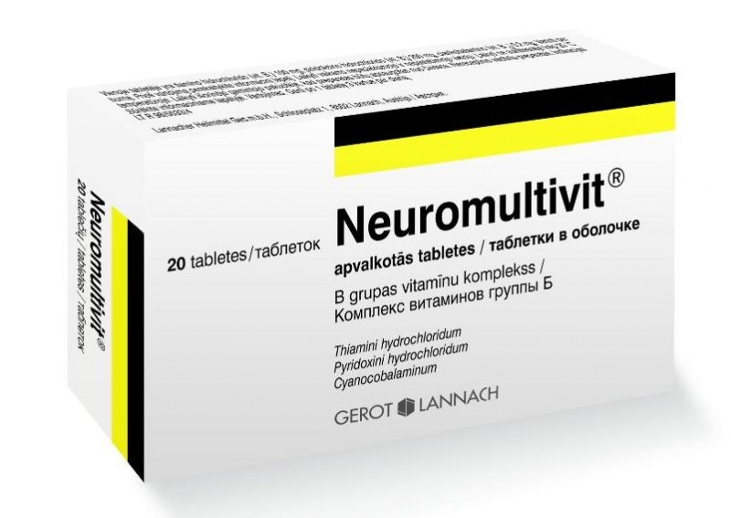 лекарство нейромультивит инструкция по применению - фото 8