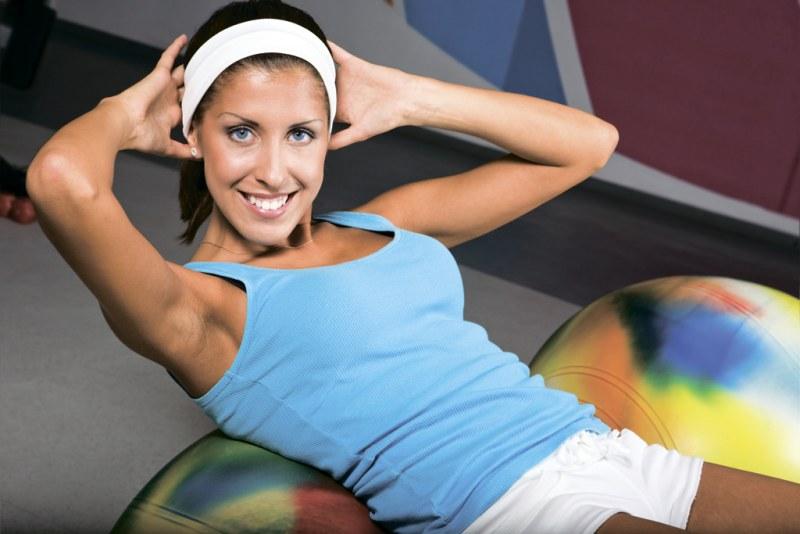 Упражнение для похудения живота с картинками