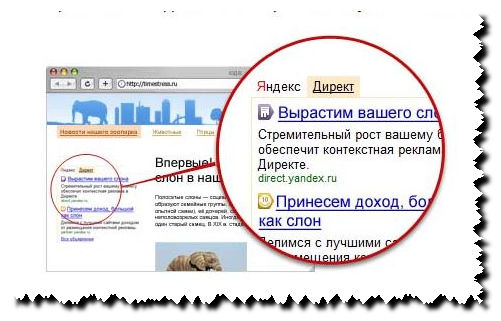 Сайты яндекс директ реклама трейдинговых услуг в интернете