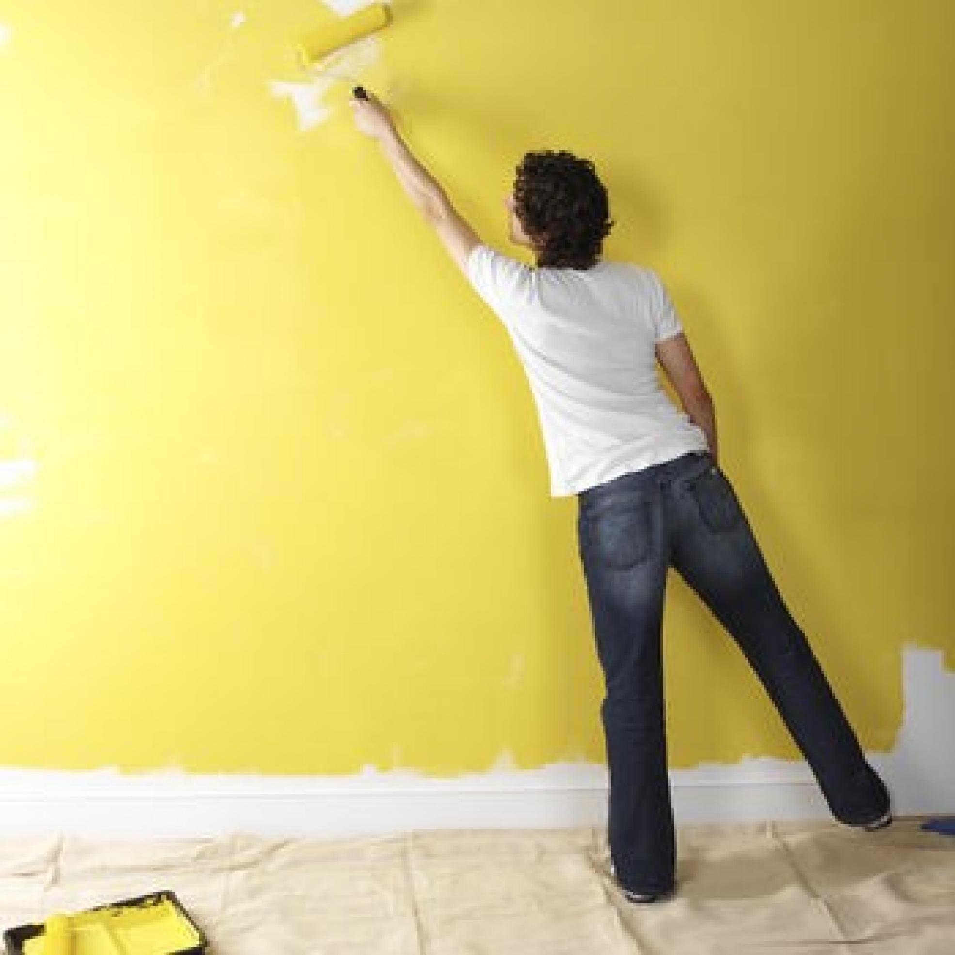 фарбування стіни