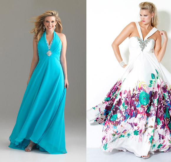 Перед тем, как приступить к выбору модели платья, необходимо понять, на чем акцентировать внимание, а что, наоборот, не мешало бы скрыть. Платья для полных
