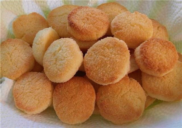 рецепт простого печенья на маргарине