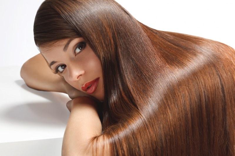 Ровные волосы