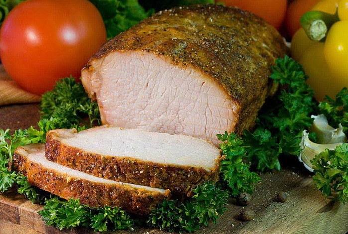 Что такое свиной карбонад ? как пожарить карбонат из свинины целиком ? Продукты питания