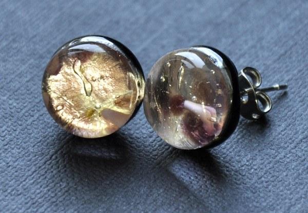 Серьги-пуссеты с драгоценными камнями, бриллиантами