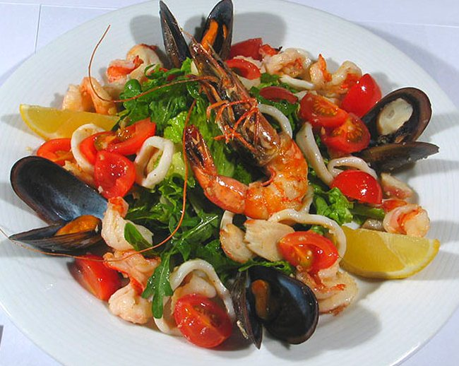 блюда с морским коктейлем рецепты с фото