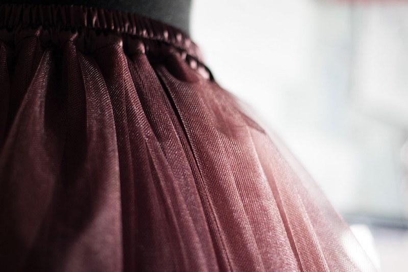 Пышная юбка из фатина как шить