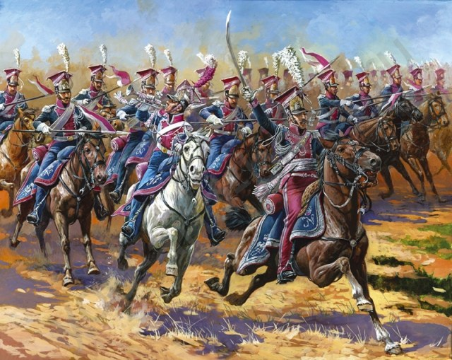 lancier dans l'ancienne armée polonaise