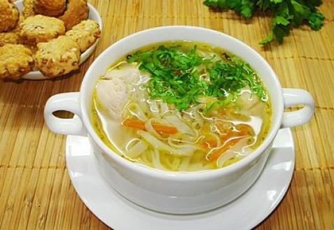 суп из куриных желудков в мультиварке с вермишелью