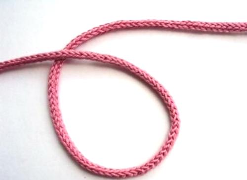 Как связать шнурок-колосок