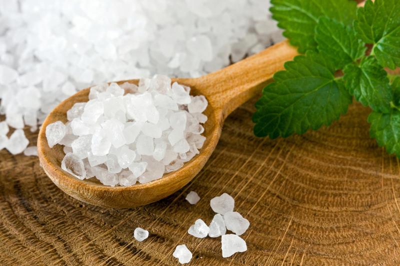 Морская соль для ванн своими руками