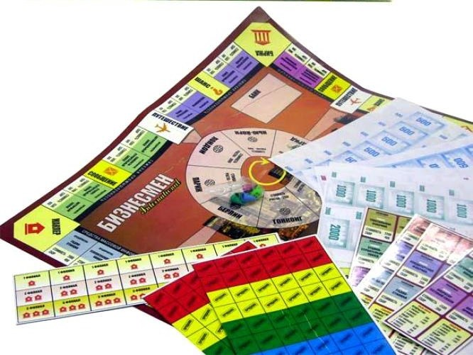 бизнесмен настольная экономическая игра правила
